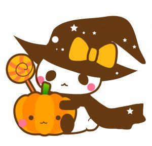 ハロウィン魔法使いパンダ