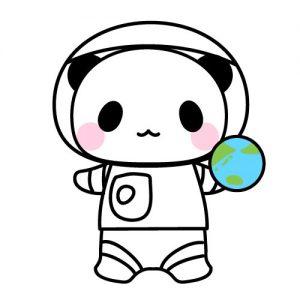 宇宙飛行士パンダ