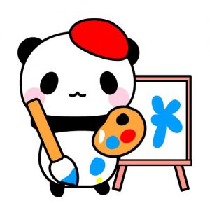 画家パンダ