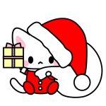 サンタクロース猫