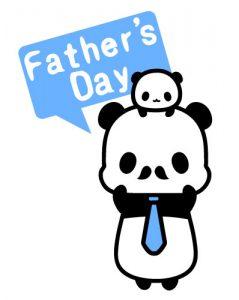 父の日パンダ