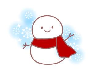 雪だるまイラスト